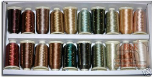 Marathon Embroidery Thread Rayon Landscape  Box of 20 x 1000mtrs